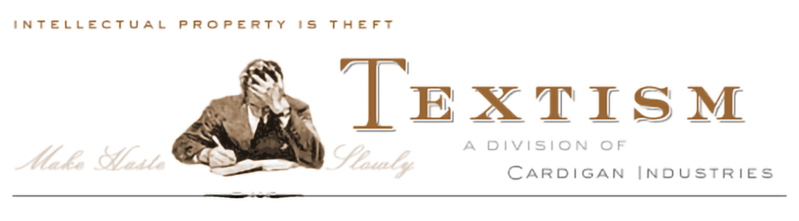 Photo of the Logo of Dean Allen's Textism