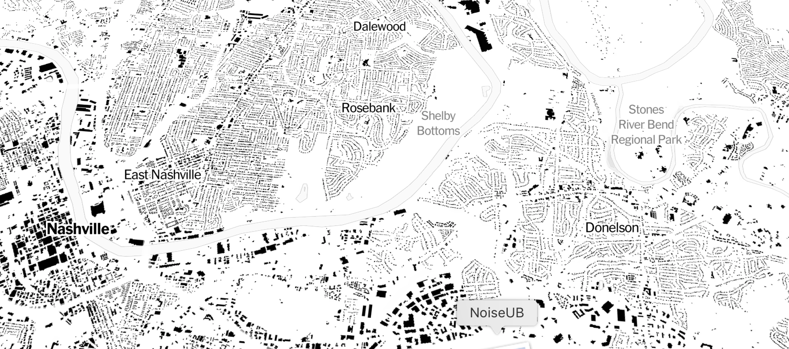 Every Building in America, Mapped by the New York Times