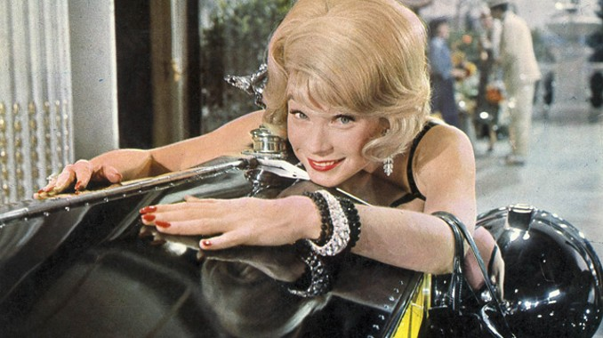 Shirley MacLaine Loves Her Yellow Rolls Royce