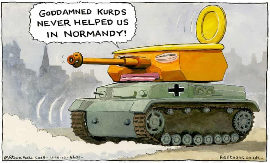 Normandy, the Kurds and the Fascist Toilet